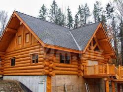 Канадский деревянный дом из бревна