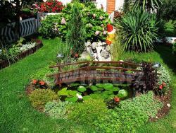 Простые идеи для малого сада